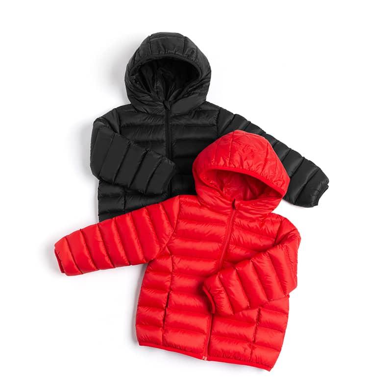 儿童轻暖羽绒服 送收纳袋4-13岁