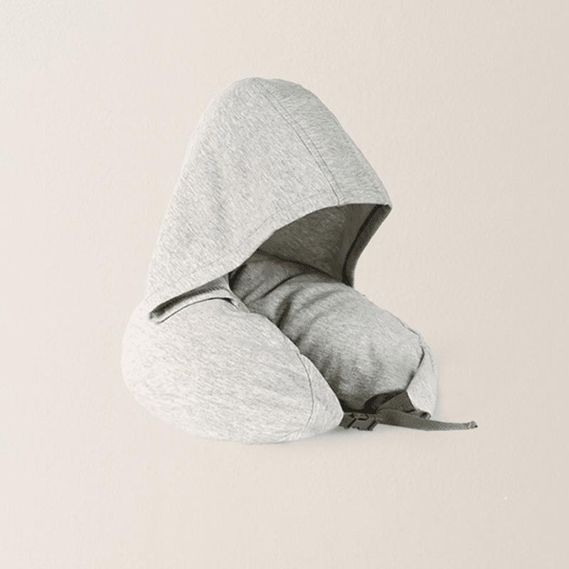 带帽日式多功能颈枕